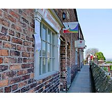 Antique Book & Collectors Shops on the Roman Walls, Chester Photographic Print