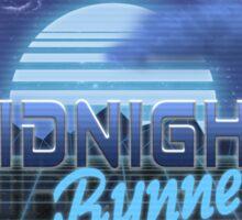 Midnight Runner 1980s neo-design Sticker