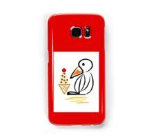 Penguin & ice cream Samsung Galaxy Case/Skin