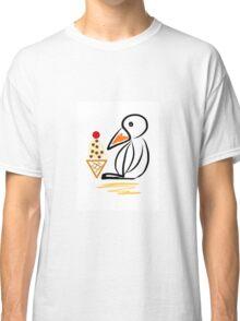 Penguin & ice cream Classic T-Shirt