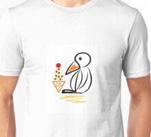 Penguin & ice cream Unisex T-Shirt