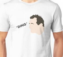 """Ding"" Impractical Jokers Joe Gatto Larry Nose Print Unofficial Fan Art Unisex T-Shirt"