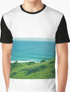 Lennox Head Lookout  Graphic T-Shirt