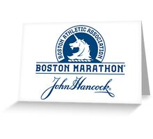 Boston Marathon Greeting Card