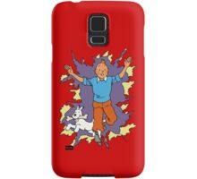 Tintin - Happy Samsung Galaxy Case/Skin