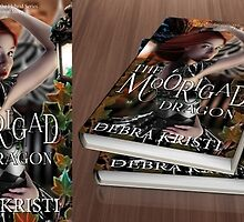Debra Kristi - The Moorigad Dragon Commision Book Cover by Adara Rosalie