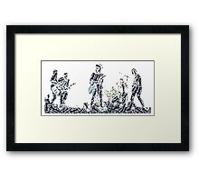 What if I say I'm not like the others? Framed Print