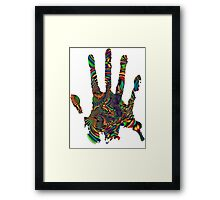 Psychedelic Touch Framed Print