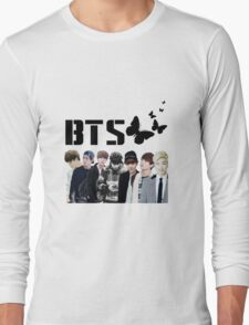 bts - butterfly inspired Long Sleeve T-Shirt