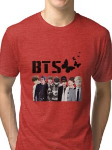 bts - butterfly inspired Tri-blend T-Shirt
