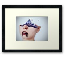 Turn to ash Framed Print