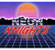 Neon Knights Photographic Print