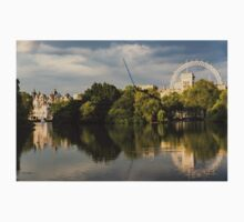 Sunlit Landmarks - St James's Park Lake Reflections in London UK Baby Tee