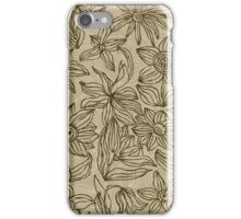 Floral Card iPhone Case/Skin