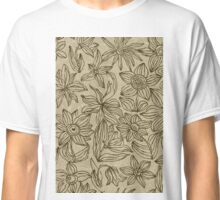 Floral Card Classic T-Shirt