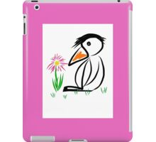Penguin & flower iPad Case/Skin