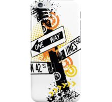 NYC Signs iPhone Case/Skin