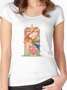 The best present in all of space and time Women's Fitted Scoop T-Shirt