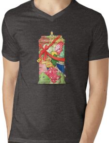 The best present in all of space and time Mens V-Neck T-Shirt