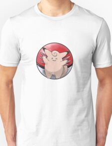 Clefable pokeball - pokemon T-Shirt