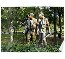 War Memorial, Washington DC USA Poster