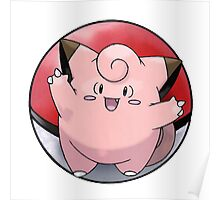 Clefairy Poster