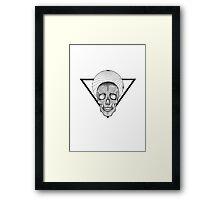 DARKSKULL Framed Print
