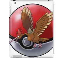 Fearow pokeball - pokemon iPad Case/Skin