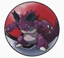 Nidoking pokeball - pokemon by pokofu13