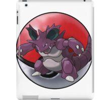Nidoking pokeball - pokemon iPad Case/Skin