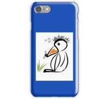 Penguin & bee iPhone Case/Skin