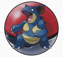 Nidoqueen pokeball - pokemon by pokofu13