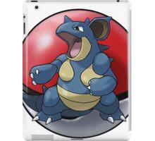 Nidoqueen pokeball - pokemon iPad Case/Skin