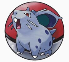 Nidoran (female) pokeball - pokemon Baby Tee