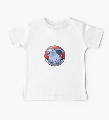 Nidoran (female) pokeball - pokemon Baby Tee