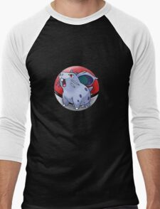 Nidoran (female) pokeball - pokemon Men's Baseball ¾ T-Shirt