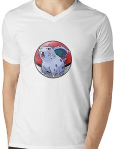 Nidoran (female) pokeball - pokemon Mens V-Neck T-Shirt