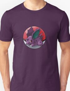 Nidoran (male) pokeball - pokemon Unisex T-Shirt