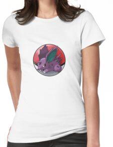Nidoran (male) pokeball - pokemon Womens Fitted T-Shirt