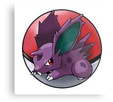Nidoran (male) pokeball - pokemon Metal Print