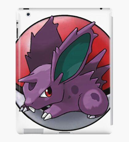 Nidoran (male) pokeball - pokemon iPad Case/Skin