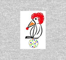 Penguin clown Womens Fitted T-Shirt