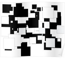 The Black & White Poster