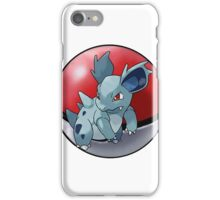 Nidorina pokeball - pokemon iPhone Case/Skin