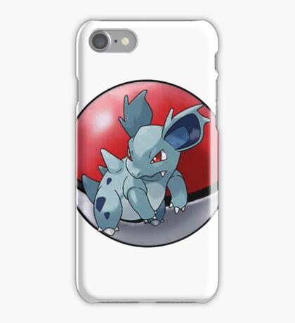 Nidorina pokeball - pokemon iPhone Case/Skin