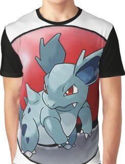 Nidorina pokeball - pokemon Graphic T-Shirt