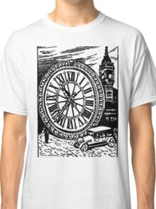 The Size of BIG BEN (Clock to Car Comparison) Classic T-Shirt