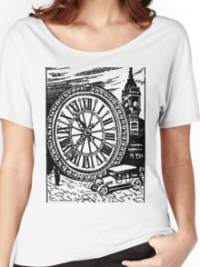 The Size of BIG BEN (Clock to Car Comparison) Women's Relaxed Fit T-Shirt