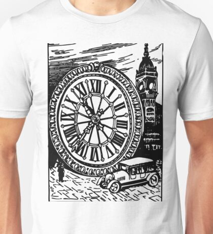The Size of BIG BEN (Clock to Car Comparison) Unisex T-Shirt