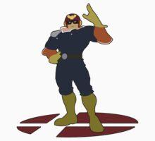 Captain Falcon - Super Smash Bros Melee by PrincessCatanna